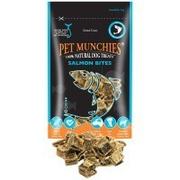Pet Munchies Salmon Bites Dog Treats 90g big image
