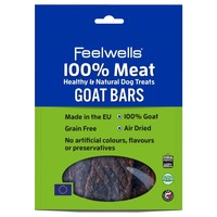 Feelwells 100% Meat Healthy & Natural Dog Treats (Goat Bars) 100g big image