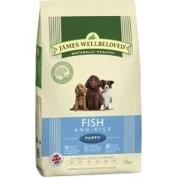 James Wellbeloved Puppy Fish and Rice 2kg big image