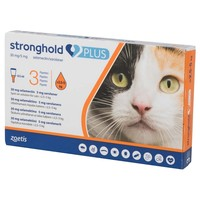Stronghold Plus 30mg Spot-On Solution for Cats (3 Pipettes) big image
