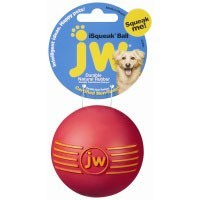 JW Pet iSqueak Ball Dog Toy big image