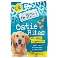 Burns Oatie Bites with Apple & Chamomile Treats for Dogs 200g big image
