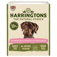 Harringtons Grain Free Wet Food Trays for Dogs (Salmon & Potato) big image