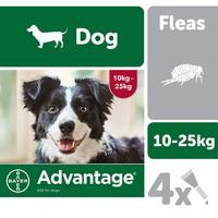 Advantage 250 Flea Treatment for Dogs 4 Pipettes big image