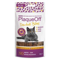 ProDen PlaqueOff Dental Bites for Cats 60g big image