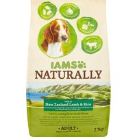 Iams Naturally Rich in New Zealand Lamb & Rice Adult Dog Food big image