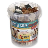Antos Dental Bites Dog Chews (500g Tub) big image