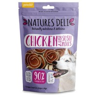 Natures Deli Chicken and Fish Sushi Rolls 100g big image