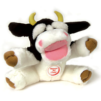 Chatterbox Cow Dog Toy big image