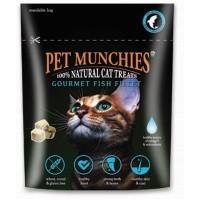Pet Munchies Gourmet Fish Fillet Cat Treats big image