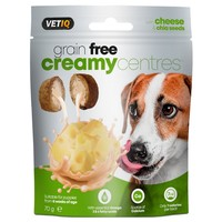 VetIQ Grain Free Creamy Centres (Cheese & Chia Seeds) 70g big image