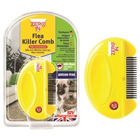 Zero In Flea Killer Comb for Cats and Dogs big image
