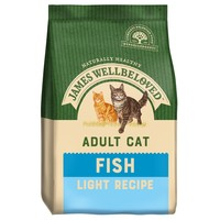 James Wellbeloved Adult Cat Light Dry Food (Fish) big image
