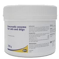 Pancreatic Enzyme for Cats and Dogs 250g (Pancrex) big image