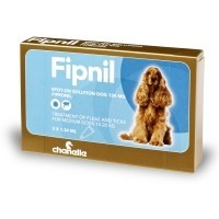 Fipnil for Medium Dogs 3 Pipettes big image