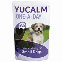 Lintbells YuCALM One-a-Day Tasty Bites Calming Supplement for Dogs big image