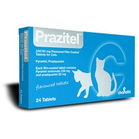 Prazitel Worming Tablets for Cats big image
