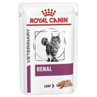 Royal Canin Renal Wet Food Pouches in Loaf for Cats big image