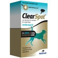 ClearSpot Spot-On Solution for Large Dogs 4 Pipettes big image