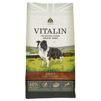 Vitalin Grain Free Adult Dry Dog Food (60% Fresh Chicken) big image