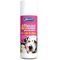 Johnson's 4Fleas Powder for Cats and Dogs 85g (Permethrin) big image
