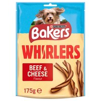 Bakers Whirlers Dog Treats (Bacon & Cheese) big image