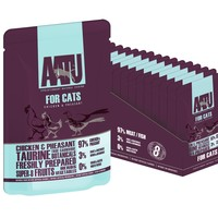 AATU Adult Cat Wet Food Pouches (Chicken & Pheasant) big image
