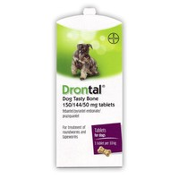Drontal Tasty Bone Tablet for Dogs (Single Tablet) big image