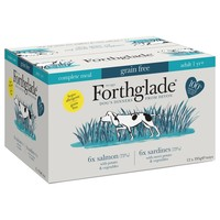 Forthglade Complete Meal Grain Free Dog Food (Fish Variety Pack) big image