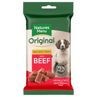Natures Menu Original Real Meaty Treats for Dogs 60g (Beef) big image