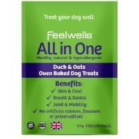 Feelwells All in One Adult Dog Treats 130g big image