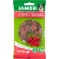Iams Minis Dog Snacks with Lamb & Cranberry 100g big image