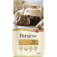 Burgess Adult Complete Cat Food (Chicken & Duck) big image