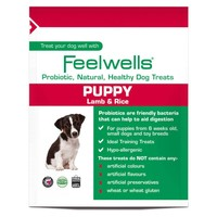 Feelwells Life Stage Probiotic Puppy Treats (Lamb & Rice) big image
