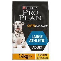 Purina Pro Plan OptiBalance Athletic Large Adult Dog Food 14kg (Chicken) big image