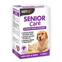 VetIQ Senior Care for Cats and Dogs (Box of 45 Tablets) big image
