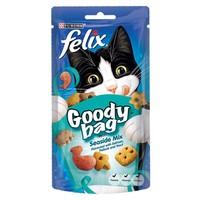 Felix Goody Bag Treats 60g (Seaside Mix) big image