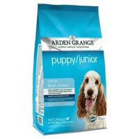 Arden Grange Puppy/Junior Dry Food (Rich in Chicken) big image