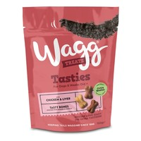 Wagg Tasty Bones Treats for Dogs 150g big image