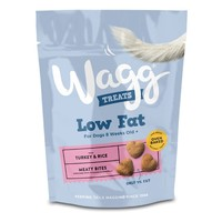 Wagg Low Fat Treats for Dogs (Turkey and Rice) big image