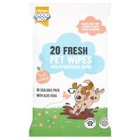 Good Boy Pet Wipes (Pack of 20) big image