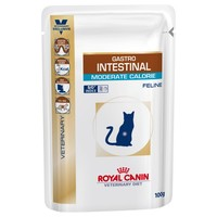 Royal Canin Gastro Intestinal Moderate Calorie Pouches for Cats big image