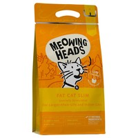 Meowing Heads Complete Adult Dry Cat Food (Fat Cat Slim) 1.5kg big image