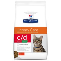 Hills Prescription Diet CD Urinary Stress Reduced Calorie Dry Food for Cats big image