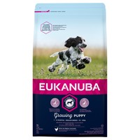 Eukanuba Growing Puppy Medium Breed Dog Food (Chicken) 12Kg big image