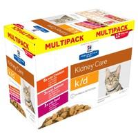 Hills Prescription Diet KD Pouches for Cats (Multipack) big image