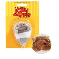 Jolly Moggy Vibrating Mouse Cat Toy big image