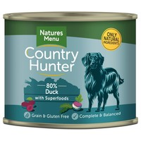 Natures Menu Country Hunter Dog Food Cans (Duck) big image