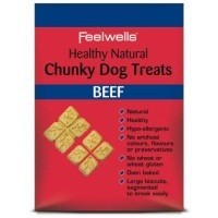 Feelwells Healthy Natural Chunky Beef Flavoured Dog Treats big image