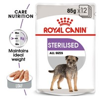 Royal Canin Sterilised Care Wet Dog Food Pouches big image